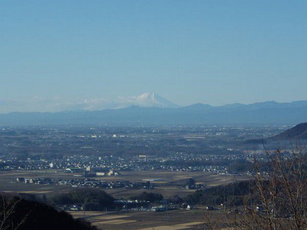 View from Kenshindaira