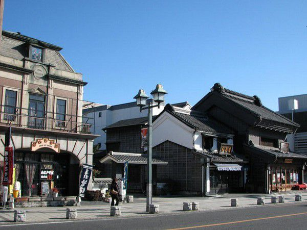Modern and clasic town of Tochigi