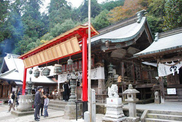 Beautiful and Historical Shrine on top of the Mt. Oohira