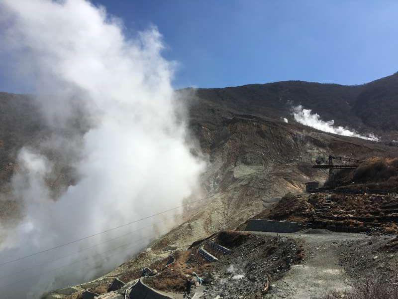 Stunning views of volcanic activity.