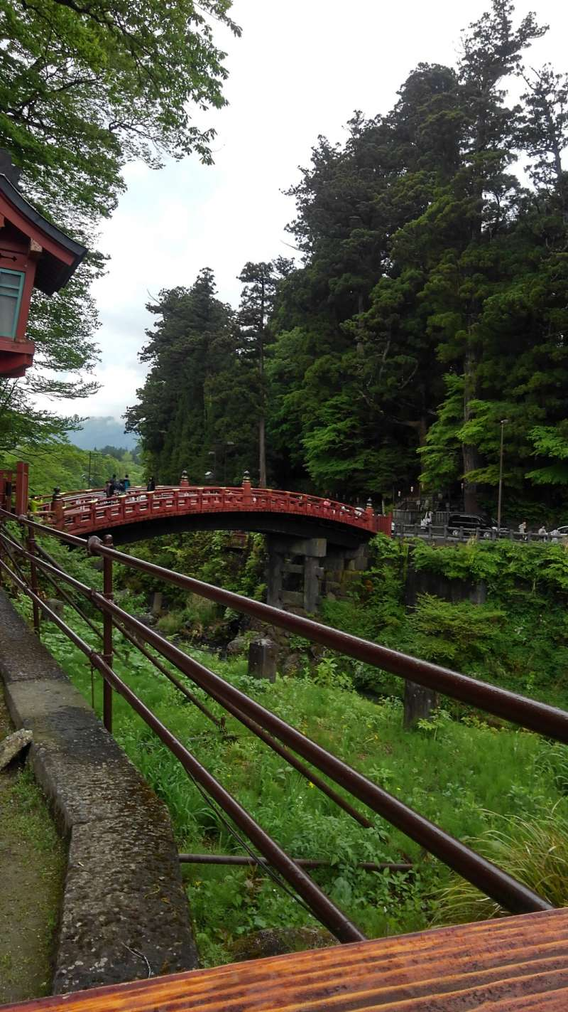 Shin Kyo, the entrance of Toshogu  The bridge of god At the foot of Toshogu.