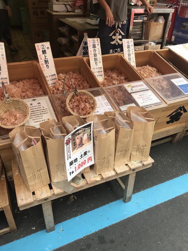 Tsukiji fish market ( outer market)