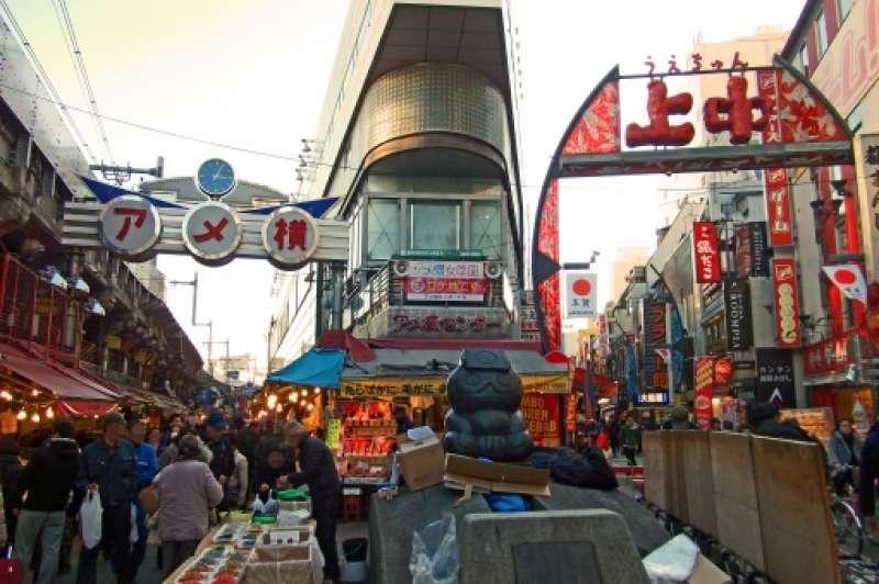 Ameyoko Street -shopping and gourmet