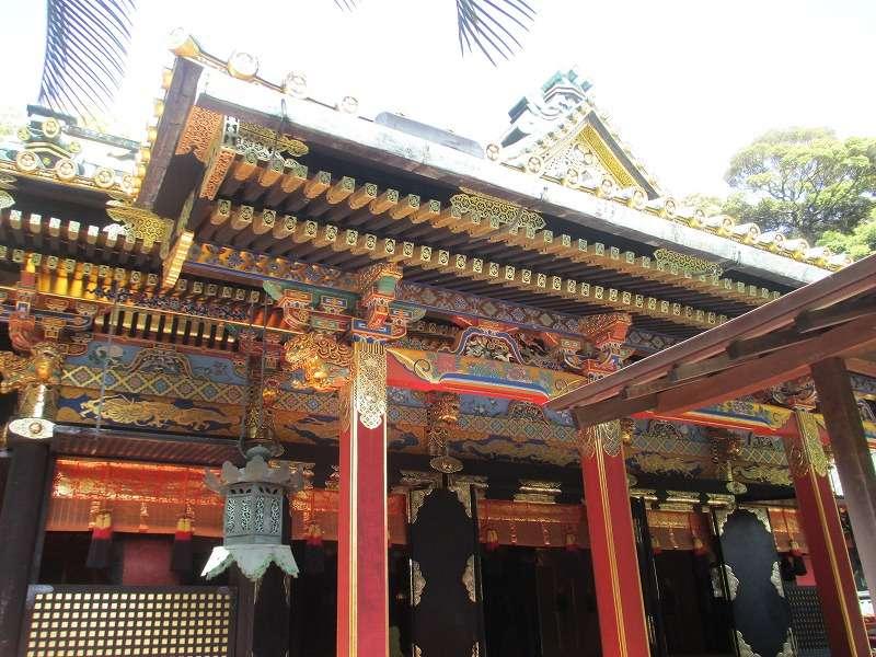 Kunozan Toshogu Shrine (Main hall)