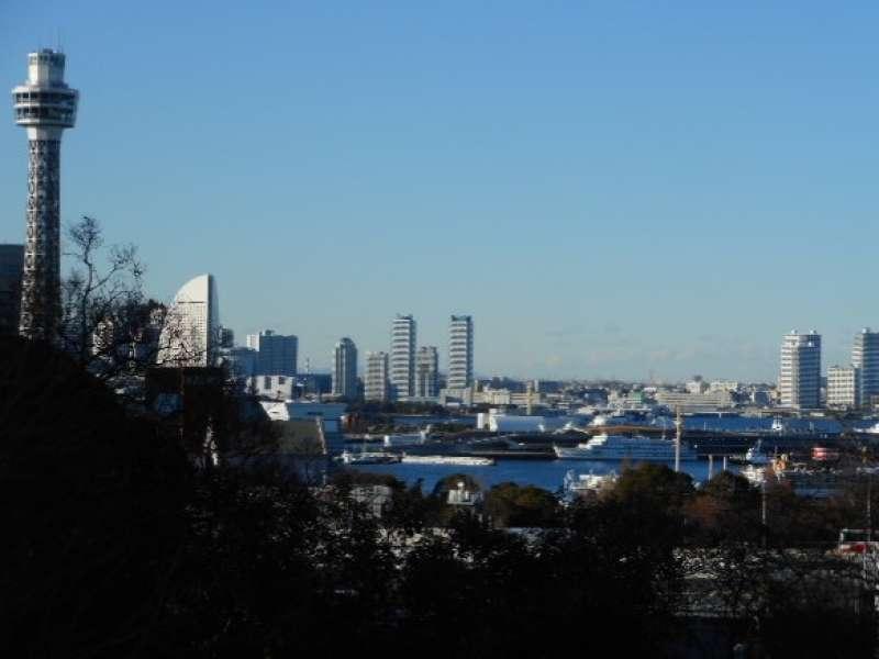Harbor View from Minato-no-mieru Park