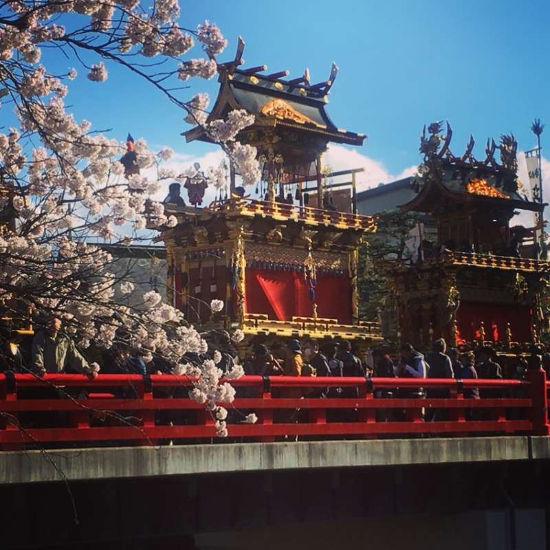 Takayama festival is designated as an intangible cultural heritage by UNESCO.