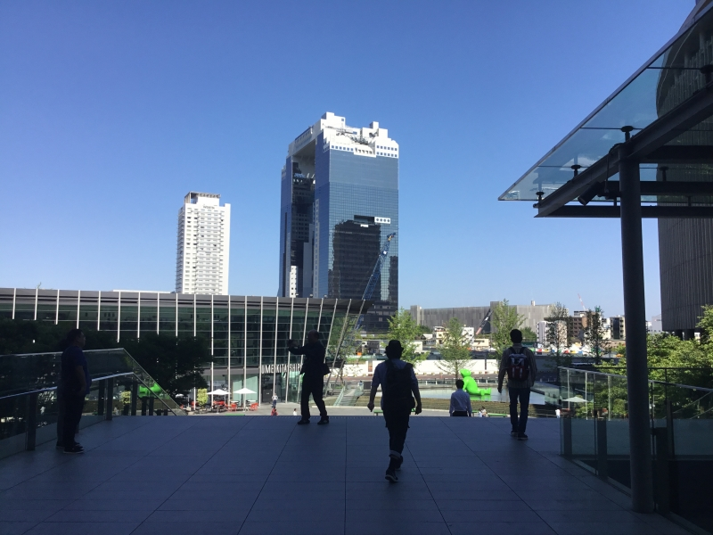 Umeda sky bill was registered as Top 20 building around the worls in 2008