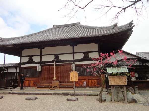 Main Hall at Asuka Temle