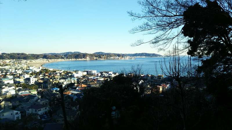 Great view from Hase temple