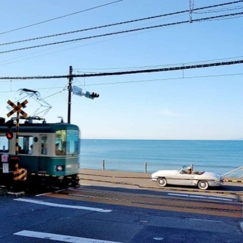 Ocean view around Kamakura