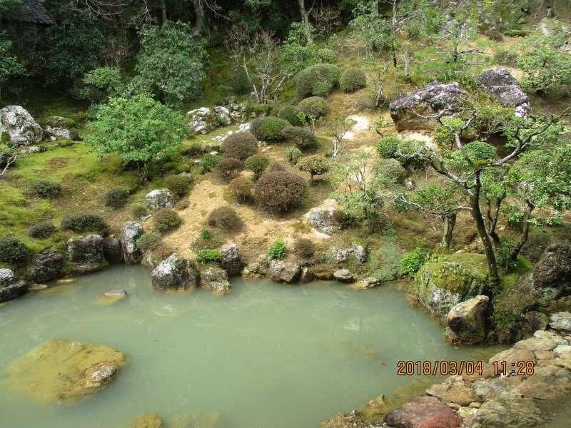 The garden in Chikurinji
