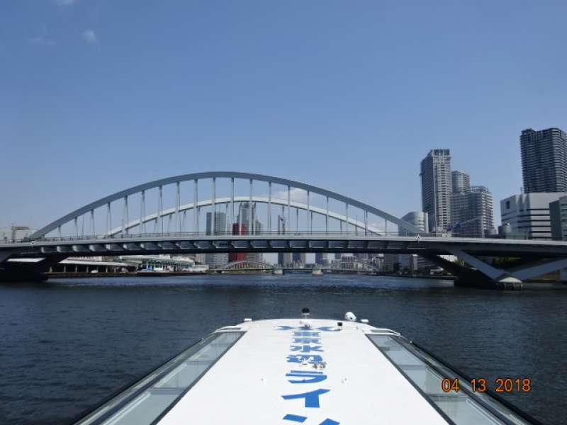 Waterbus on the Sumida River