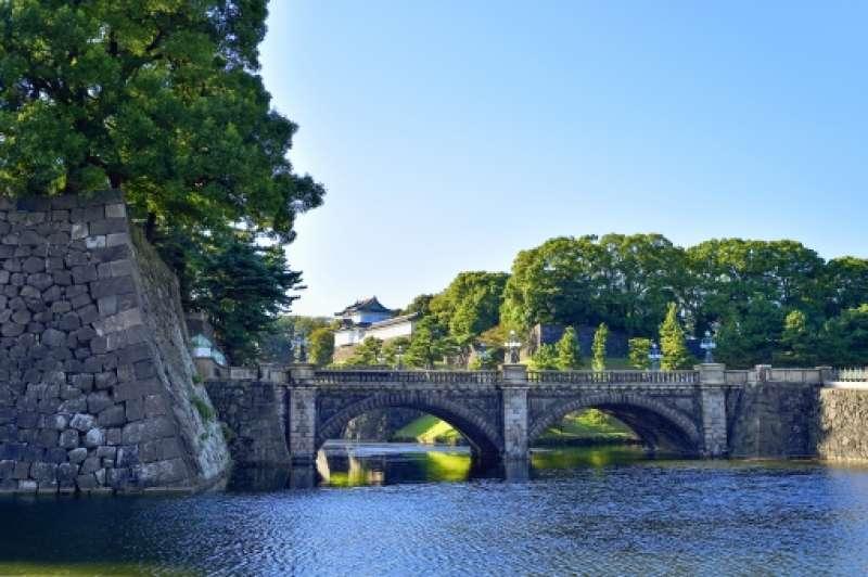 Niju-bashi Bridge (stone bridge of the Main Gate) of the Imperial Palace.