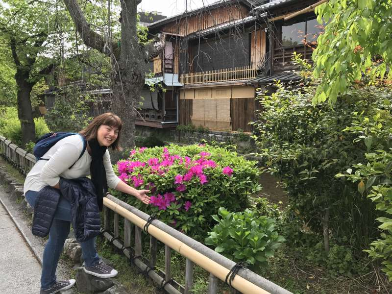 La ruta de oro de Kioto