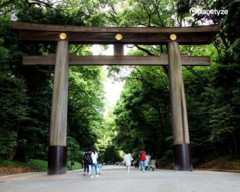 MeijiJingu Shintoism Shrine 2.