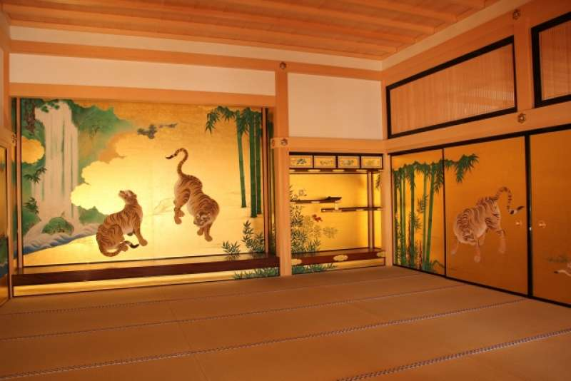 Nagoya Castle Honmaru Palace, reconstraction finished in June 2018.