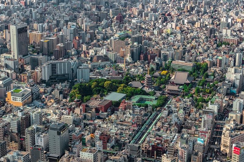 [25 Minutes] Tokyo Tour: Asakusa-Ueno Helicopter Tour