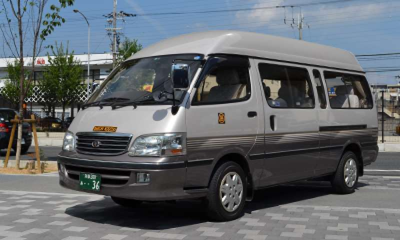 our 9-seater taxi