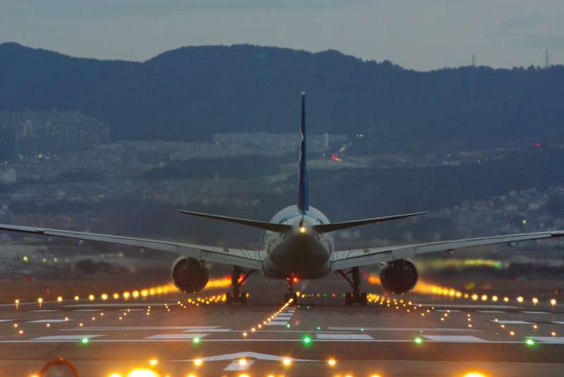 Itami Airport to Osaka City Transfer with a Private Car