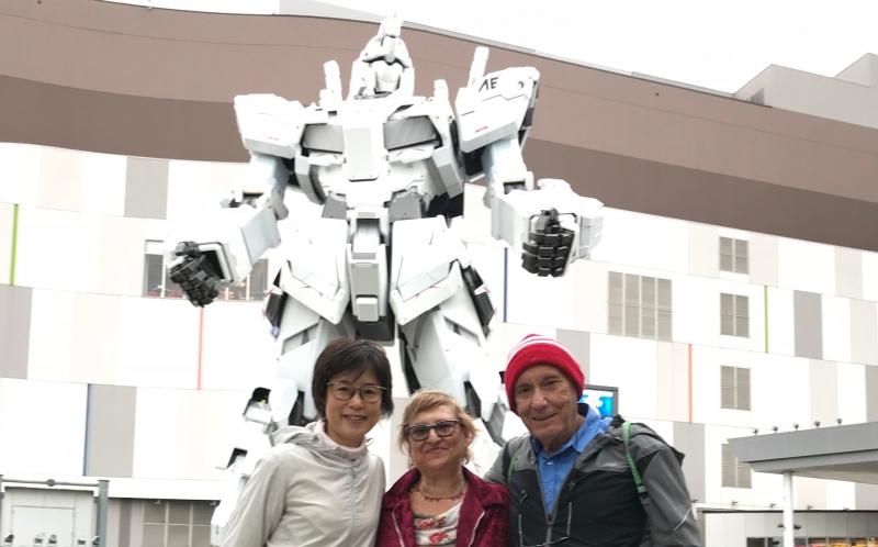 Gundam, an anime robot character (#2)