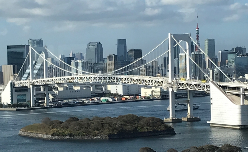 Tokyo Bay view from Odaiba