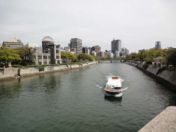 This is not Brugge, but Hiroshima!  Please come to find so many good things over here with me.