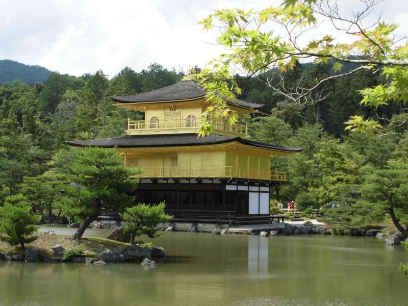 Kinkakuji temple, Golden Pavilion