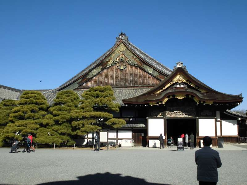 Nijo-jo castle, Ninomaru goten palace