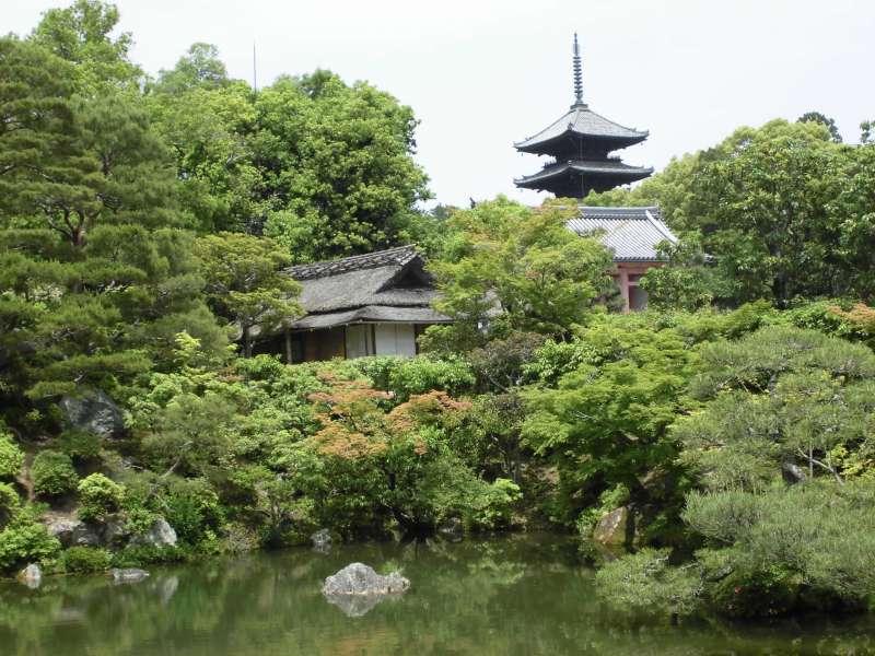 Ninnaji temple, Garden