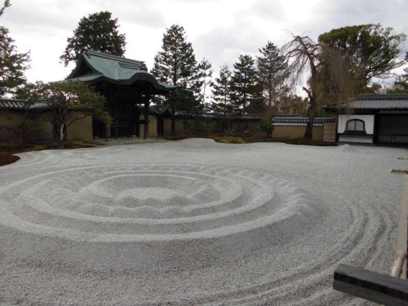 Kodaiji Temple, Zen garden