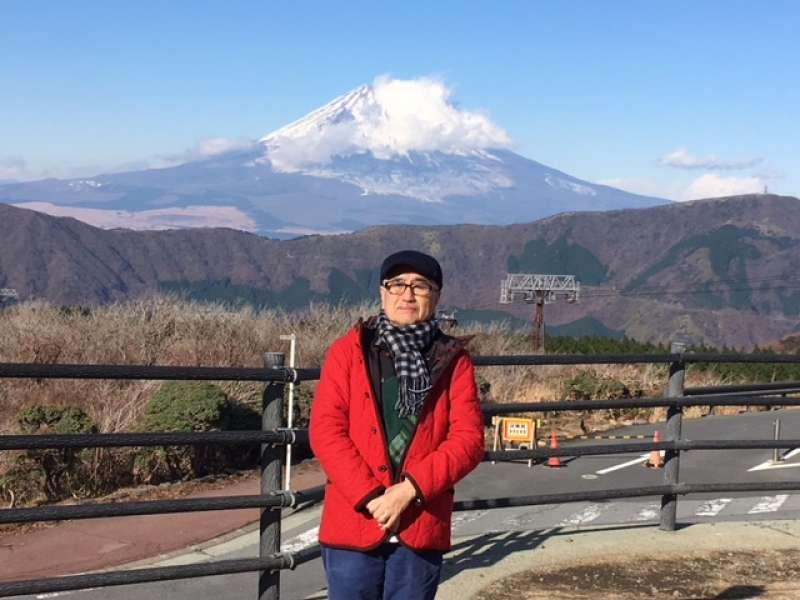 Fine view of Mt. Fuji