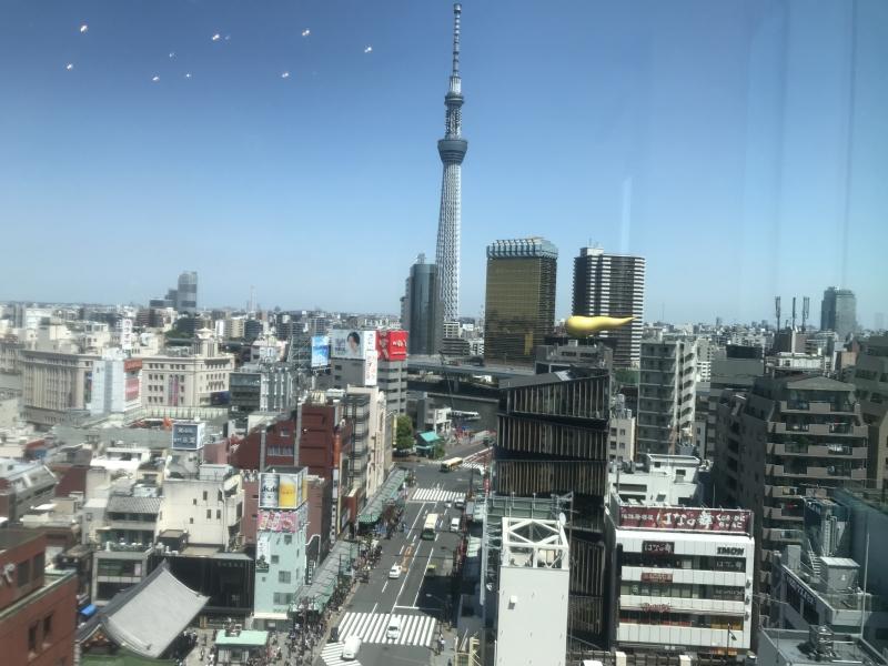 Tokyo Skytree : View from Asakusa