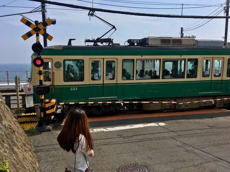 Cute train, Enoden