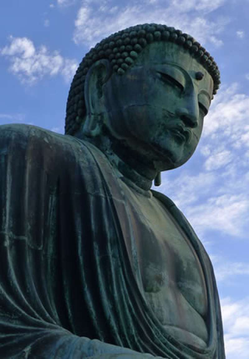 The great statue of Buddha