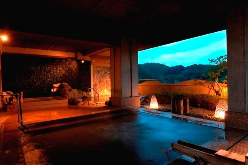 hot spring - very nice open air hot spring(optional )