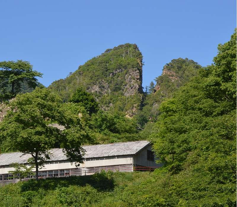 Sado gold mine :Doyu- no- wareto: open pit mine of the early Edo era