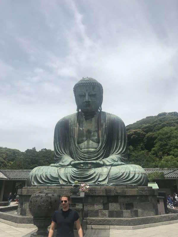 Excursão Kamakura (Santuário Tsurugaoka-Hachiman, Templo Hase, Templo Kotokuin)