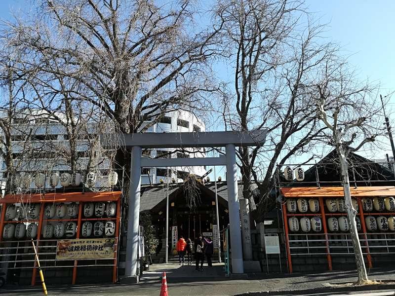 Namiyoke shrine in Tsukiji