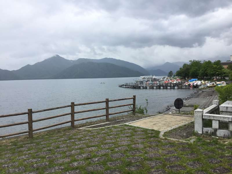 Chuzennji lake located near Nantai mountain on the altitude of 1269meter.