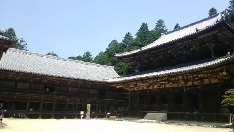 Shoshazan Engyoji Temple is a sacred place of Buddhism to purify your mind.