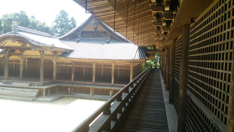 Engyoji Temple is often used as ideal locations for shooting period films