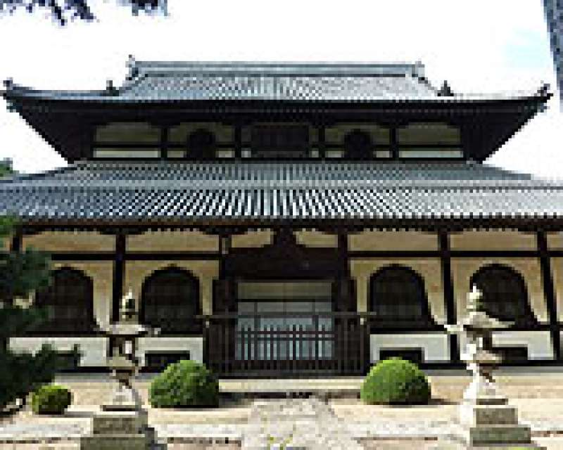 Main hall of the temple, Sougen-ji