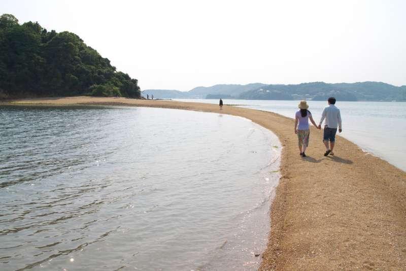 Venus Road in Kuroshima island