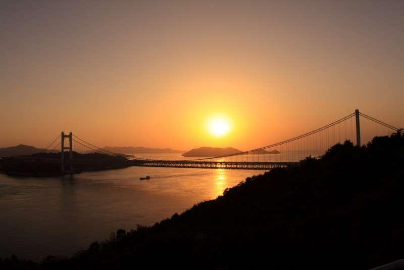 Sunset of Seto Inland Sea