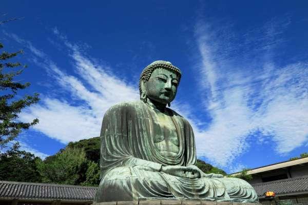 Great Buddha under the blue sky