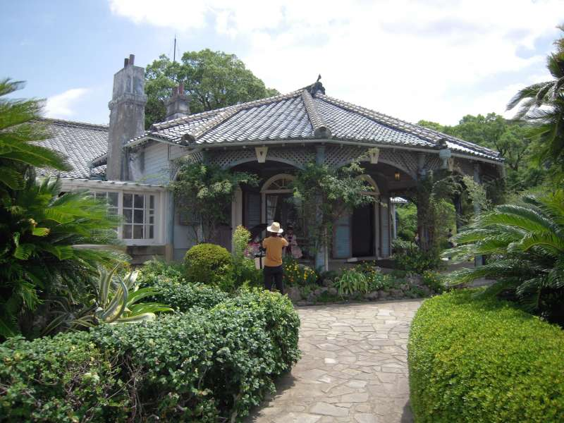 Thomas Glover's former residence. There are old western styles houses and gardens in Glover garden, feel the time back in the 19th century in Japan.