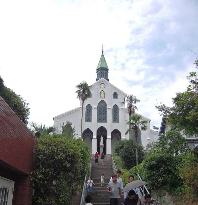 Oura tenshudo(cathedral) was just registered as world heritage site.