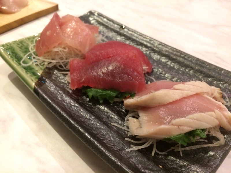 3 different kinds of tuna
