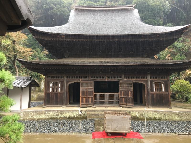 A national treasure of Shariden of Enkakuji
