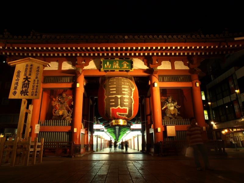 Thunder Gate of Senso-ji Temple in Asakusa